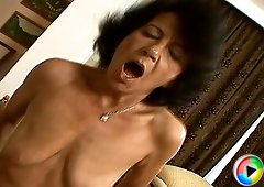 Old hairy granny sucking a cock anf gets fucekd