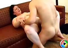 Hot busty piece of MILF ass gets banged senseless by a hungry young dick
